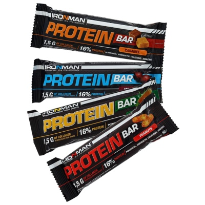 Батончик Ironman Protein Bar 50 гр